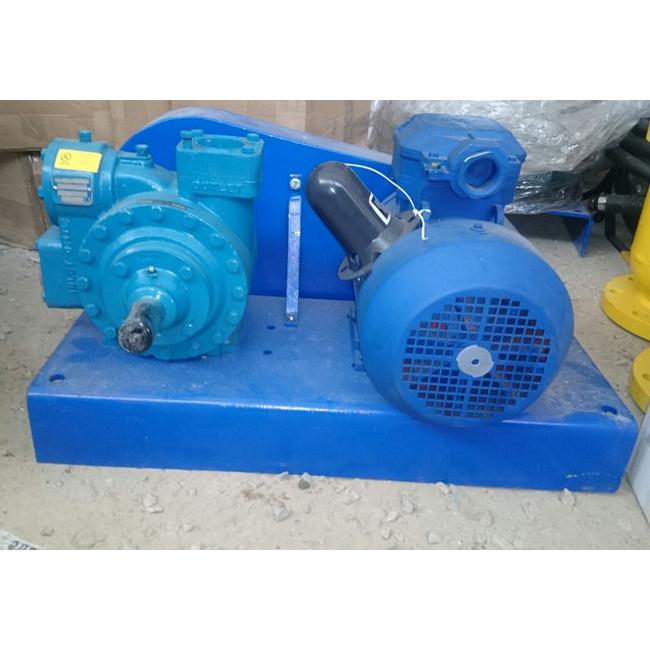 Насосный агрегат Blackmer LGLD2 с электродвигателем 4кВт (ременный привод)