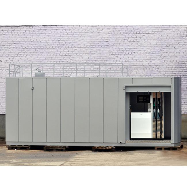 Блочно-контейнерная автозаправочная станция типа БКАЗС